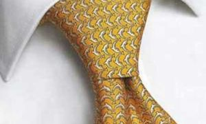 Классический символ мужества — галстучный узел «Святой Андрей»