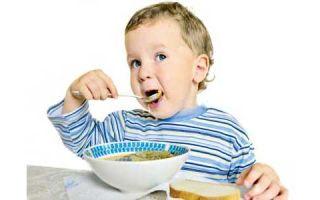 Питание трехлетнего малыша – есть ли правила составления рациона?