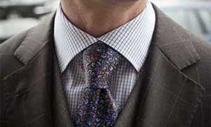 Стильный акцент мужской внешности — как завязывать толстый галстук? Узел Полувиндзор