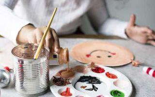 Занятия творчеством с детьми