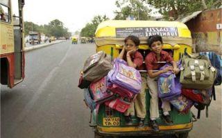 Поведение ребенка в транспорте
