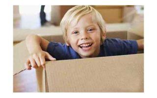 Как построить дом для ребенка с использованием картонных коробок?
