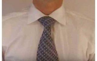 Как завязать галстук узлом Виндзор? Схема